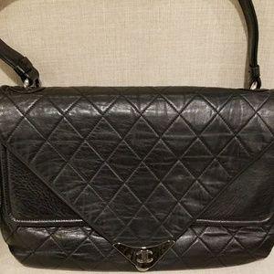 Authentic Chanel double flap envelope shoulder